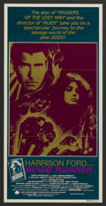 "Movie Posters:Science Fiction, Blade Runner (Warner Brothers, 1982). Australian Daybill (13"" X27""). Science Fiction...."