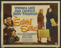 """The Sainted Sisters (Paramount, 1948). Half Sheets (2) (22"""" X 28"""") Styles A and B. Comedy.... (Total: 2 Items)"""