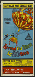 "Movie Posters:Academy Award Winner, Around the World in 80 Days (United Artists, 1956). AustralianDaybill (13"" X 30""). Academy Award Winner...."