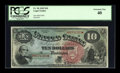 Large Size:Legal Tender Notes, Fr. 96 $10 1869 Legal Tender PCGS Extremely Fine 40....