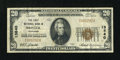 National Bank Notes:Tennessee, Bristol, TN - $20 1929 Ty. 1 The First NB Ch. # 13640. ...