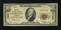 National Bank Notes:Tennessee, Morristown, TN - $10 1929 Ty. 1 The First NB Ch. # 3432. ...