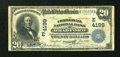 National Bank Notes:Pennsylvania, Bradford, PA - $20 1902 Date Back Fr. 645 The Commercial NB Ch. #(E)4199. ...