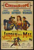 """Movie Posters:Western, Garden of Evil (20th Century Fox, 1954). Argentinean Poster (29"""" X 43""""). Western...."""