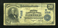 National Bank Notes:Colorado, Denver, CO - $20 1902 Date Back Fr. 642 The First NB Ch. # (W)1016....