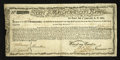 Colonial Notes:Massachusetts, Massachusetts Commodity Bond January 1, 1780 Fine-Very Fine,repairs. ...
