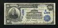 National Bank Notes:Pennsylvania, Tyrone, PA - $10 1902 Plain Back Fr. 627 The First NB Ch. # (E)4355. ...