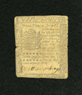 Colonial Notes:Pennsylvania, Pennsylvania April 3, 1772 9d Very Good....