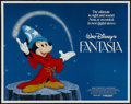 "Movie Posters:Animated, Fantasia (Buena Vista, R-1982). Half Sheet (22"" X 28"").Animated...."