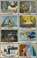 "Movie Posters:Animated, The Sword in the Stone (Buena Vista, 1963). Lobby Cards (8) (11"" X14""). Animated.... (Total: 8 Items)"