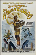 "Movie Posters:Action, The Human Tornado (Dimension, 1976). One Sheet (27"" X 41"").Action...."