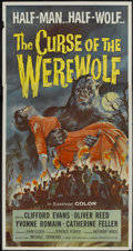 """Movie Posters:Horror, Curse of the Werewolf (Universal, 1961). Three Sheet (41"""" X 81""""). Horror...."""