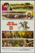 "Movie Posters:Action, Taras Bulba (United Artists, 1962). One Sheet (27"" X 41"") Style A.Action...."