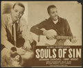 "Movie Posters:Black Films, Souls of Sin (Alexander Productions, 1949). Lobby Card (11"" X 13.25""). Black Films...."