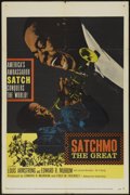 """Movie Posters:Musical, Satchmo The Great (United Artists, 1957). One Sheet (27"""" X 41""""). Musical...."""