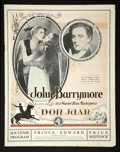 "Movie Posters:Adventure, Don Juan (Warner Brothers, 1926). Program (9"" X 11"") (MultiplePages). Adventure...."