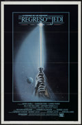 "Movie Posters:Science Fiction, Return of the Jedi (20th Century Fox, 1983). Spanish Language OneSheet (27"" X 41"") Style A. Science Fiction...."