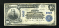 National Bank Notes:Tennessee, Copperhill, TN - $10 1902 Plain Back Fr. 626 The First NB of PolkCounty Ch. # 9027. ...