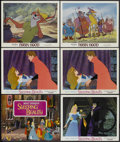 "Movie Posters:Animated, Sleeping Beauty Lot (Buena Vista, R-1970). Title Lobby Card andLobby Cards (5) (11"" X 14""). Animated.... (Total: 6 Items)"