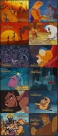 """Movie Posters:Animated, Hercules (Buena Vista, 1997). Lobby Card Set of 12 (11"""" X 14"""").Animated.... (Total: 12 Items)"""