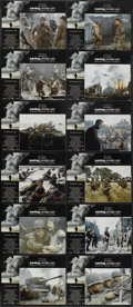 "Movie Posters:War, Saving Private Ryan (Paramount, 1998). Lobby Card Set of 12 (11"" X 14""). War.... (Total: 12 Items)"