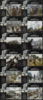 "Saving Private Ryan (Paramount, 1998). Lobby Card Set of 12 (11"" X 14""). War.... (Total: 12 Items)"