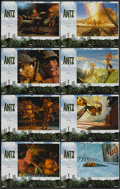 "Movie Posters:Animated, Antz (DreamWorks, 1998). Lobby Card Set of 8 (11"" X 14""). Animated.... (Total: 8 Items)"