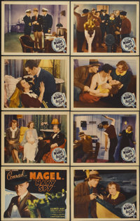 """Navy Spy (Grand National, 1937). Lobby Card Set of 8 (11"""" X 14""""). Thriller.... (Total: 8 Items)"""