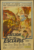 "Movie Posters:Adventure, The Revolt of the Slaves (United Artists, 1961). Argentinean Poster(28.75"" X 42""). Adventure...."