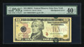 Error Notes:Shifted Third Printing, Fr. 2039-B $10 2004A Federal Reserve Note. PMG Extremely Fine 40 EPQ.. ...