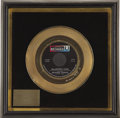 Music Memorabilia:Awards, Larry Knechtel MacArthur Park Gold Single Award. Presentedby songwriter Jimmy Webb to session musician Larry Knechtel, ...(Total: 1 Item)
