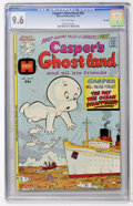 Bronze Age (1970-1979):Cartoon Character, Casper's Ghostland #82 File Copy (Harvey, 1975) CGC NM+ 9.6Off-white pages....