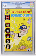 Bronze Age (1970-1979):Cartoon Character, Richie Rich Dollars and Cents #57 File Copy (Harvey, 1973) CGC NM+9.6 White pages....