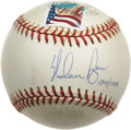 Autographs:Baseballs, Nolan Ryan Single Signed Baseball. From a limited-edition run of1999 we present this fine single that comes to us by way o...