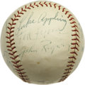 Autographs:Baseballs, Chicago White Sox Old Timers Multi-Signed Baseball. The storiedpast of the Chicago White Sox franchise is chronicled here ...