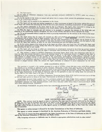 Buddy Ebsen Signed SAG Contracts  Buddy Ebsen signed in full