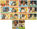 Baseball Cards:Lots, 1960-1963 Topps Baseball Collection of 105. Star-studded group ofearly 1960s Topps baseball cards. Highlights include #7 M...