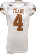 Football Collectibles:Uniforms, 2006 Limas Sweed Game Worn Jersey. His size, strength and soft hands make him one of the most highly touted wide receiver p...
