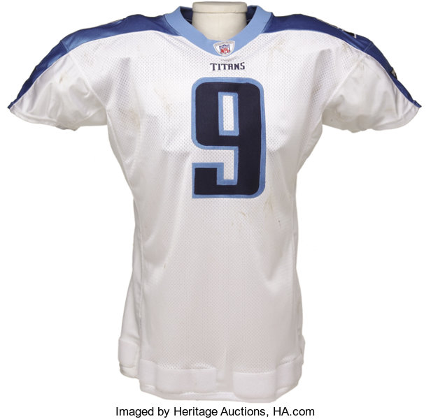 low priced 9ef13 73803 2002 Steve McNair Game Worn Jersey. The star quarterback for ...