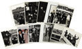 "Music Memorabilia:Photos, Beatles Promo and Press Photos, Set of 11. An assortment of Beatles promo and press photos that includes a b&w 6"" x 8"", a b&... (Total: 1 Item)"
