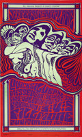Music Memorabilia:Posters, Jefferson Airplane/Quicksilver Messenger Service Fillmore Concert Poster, BG-48 (Bill Graham, 1967). This poster is one of ... (Total: 1 Item)