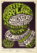 Music Memorabilia:Posters, Jefferson Airplane Fillmore Concert Poster, BG-4 (Bill Graham,1966). We're going way back for this item, one of the ear...(Total: 1 Item)