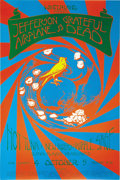 Music Memorabilia:Posters, Jefferson Airplane/Grateful Dead Winterland Concert Poster (Winterland, 1970). Here's a seldom-seen Rock poster brimming wit... (Total: 1 Item)