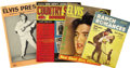 Music Memorabilia:Memorabilia, Elvis Presley-Themed Vintage Magazines. This set of four vintage publications from 1955-60 includes the April 1957 issue of ... (Total: 1 Item)