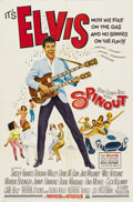 Music Memorabilia:Posters, Elvis Presley Spin Out and Stay Away, Joe Lobby Cardsand Posters. Includes a one-sheet movie poster... (Total: 1 Item)