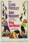 Music Memorabilia:Posters, Elvis Presley Viva Las Vegas and Live a LittlePosters and Lobby Cards. Includes seven lobby cards a... (Total: 1Item)