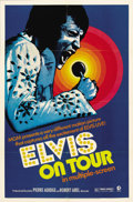 Music Memorabilia:Posters, Elvis Presley Concert Films Lobby Cards, Posters, and Press Books.Includes one press book, one-sheet poster, and eight lobb...(Total: 1 Item)