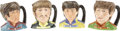 Music Memorabilia:Memorabilia, Beatles - Set of Four Royal Doulton Beatles Character Jugs. A setof four Royal Doulton Beatles character mugs, all manufact...(Total: 1 Item)