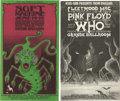 Music Memorabilia:Posters, Grande Ballroom English Rock Concert Postcard Group (Russ Gibb,1968). A couple of great, unused postcards for Detroit shows...(Total: 2 Item)