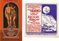 Music Memorabilia:Posters, The Who Concert Postcard Group (1968). Two supreme cards from theWho's 1968 tour of the US, including a Russ Gibb Grande Ba...(Total: 2 Item)